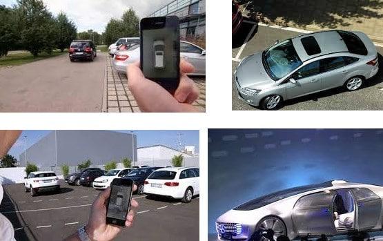 autos que se estacionan solos