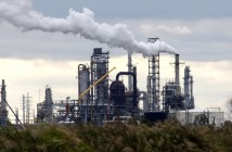 **ADVANCE FOR WEEKEND DEC. 5-6**Total Petrochemicals Port Arhtur refinery is shown Wednesday, Dec. 2, 2009 in Port Arthur, Texas. Over the past several years, Total Petrochemical's sprawling oil refinery in southeast Texas has sprayed tons of sulfuric acid and carbon monoxide into the sky. The French company's 62-year-old facility has also released cancer-causing benzene, regularly surpassed allowable pollution limits, failed to report dozens of emissions or even fully identify what was emitted and how much and failed to conduct proper maintenance. (AP Photo/David J. Phillip)